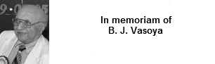 In Memoriam of B J Vasoya