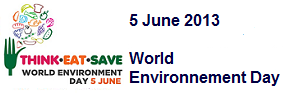 5 June 2013  World Environment Day