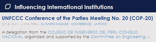 Influencing International Institutions